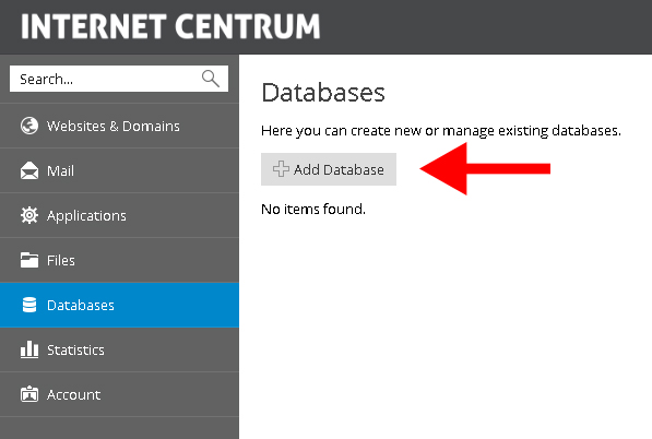 Jak vytvořit databázi